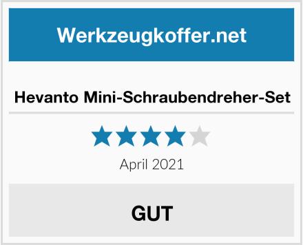 Hevanto Mini-Schraubendreher-Set Test