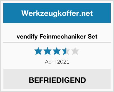 vendify Feinmechaniker Set Test