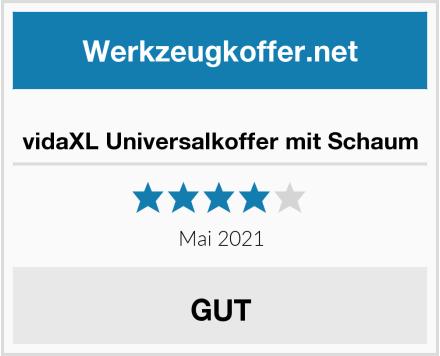 vidaXL Universalkoffer mit Schaum Test