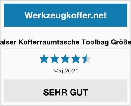 Walser Kofferraumtasche Toolbag Größe L Test