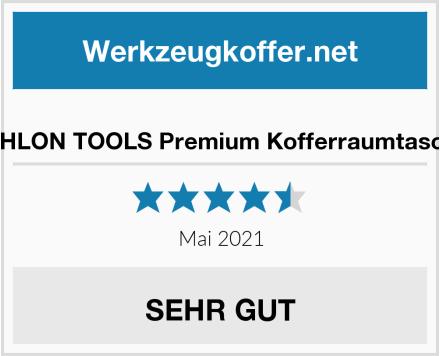 ATHLON TOOLS Premium Kofferraumtasche Test