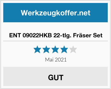 ENT 09022HKB 22-tlg. Fräser Set Test