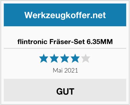 flintronic Fräser-Set 6.35MM Test