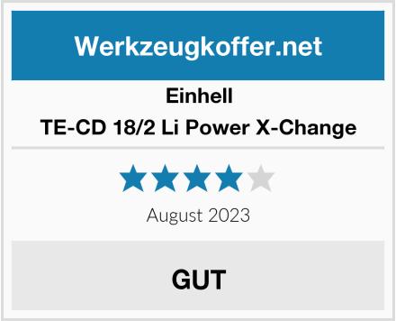 Einhell TE-CD 18/2 Li Power X-Change Test