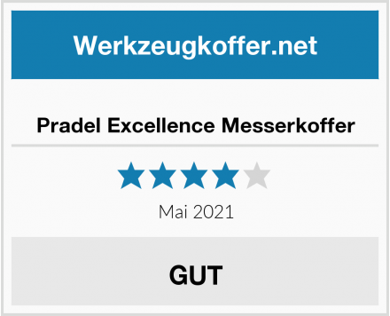 Pradel Excellence Messerkoffer Test