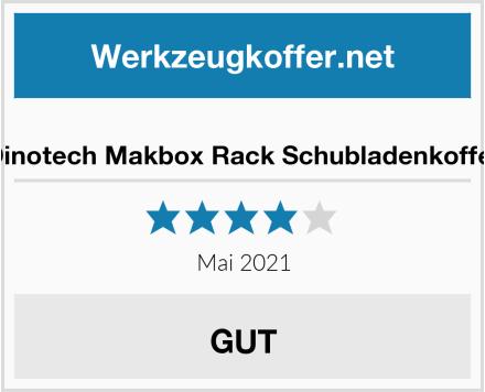 Dinotech Makbox Rack Schubladenkoffer Test