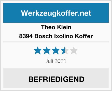 Theo Klein 8394 Bosch Ixolino Koffer Test