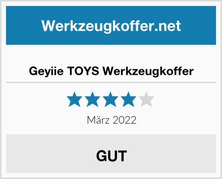 Geyiie TOYS Werkzeugkoffer Test