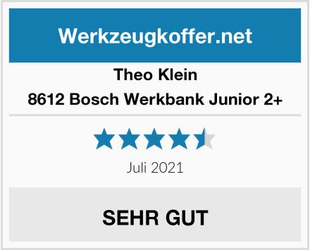 Theo Klein 8612 Bosch Werkbank Junior 2+ Test
