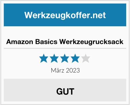 Amazon Basics Werkzeugrucksack Test