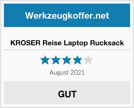 KROSER Reise Laptop Rucksack Test