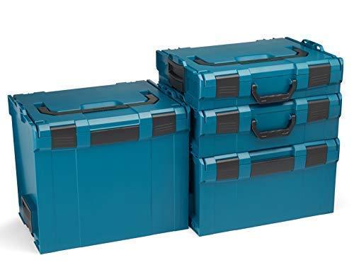 Bosch Sortimo L-Boxx Werkzeugkoffer Set | Größe 102-374 in Grün
