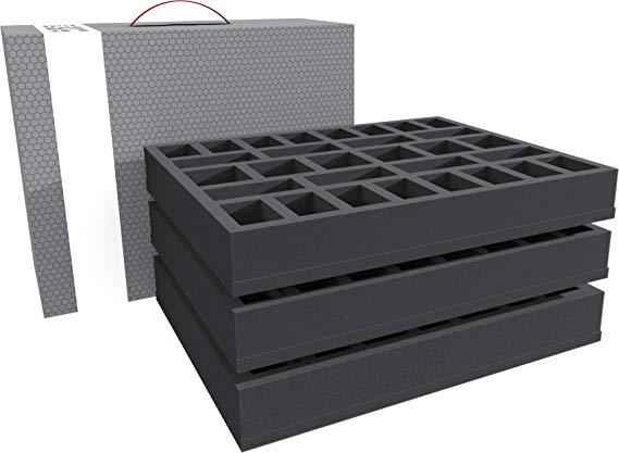 Feldherr Lagerbox für Miniaturen auf großer Base