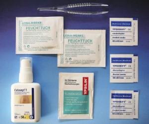 HM Arbeitsmedizin Erste-Hilfe-Koffer KITA incl. Desinfektion