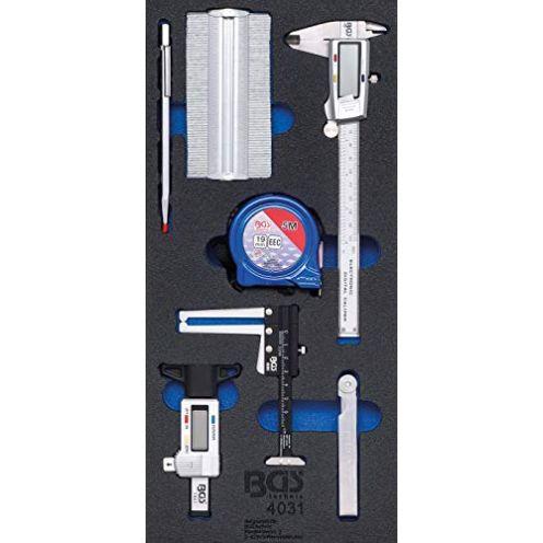BGS 4031 Werkstattwageneinlage 1/3: Messwerkzeug-Satz