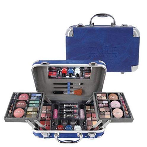 ZMILE Cosmetics Schminkkoffer Traveller blue