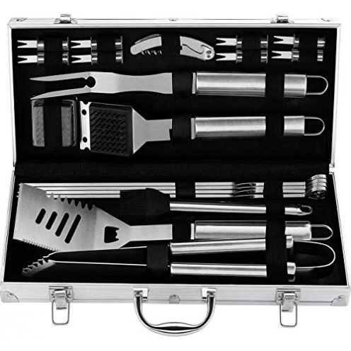 grilljoy 20pcs Grillkoffer Set