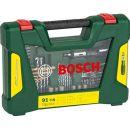 Bosch 91-teiliges V-Line Titanium-Set