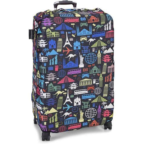 LuxuryforTravel - elastische Kofferschutzhülle