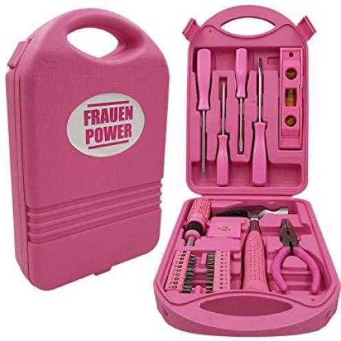 Power-Preise24 Werkzeugkoffer Frauenpower Mini