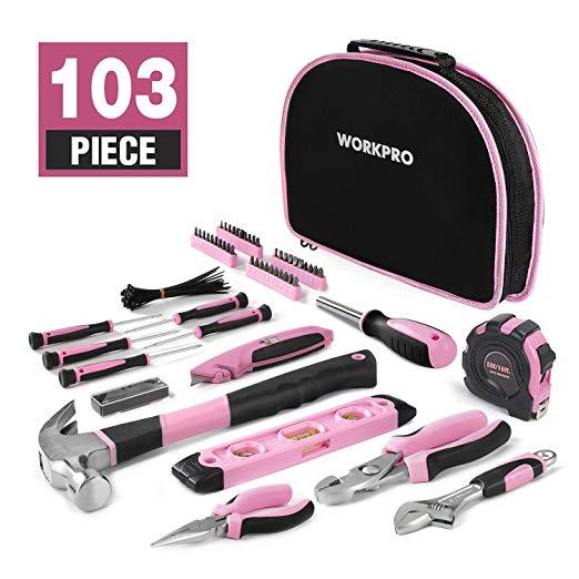 WORKPRO 103-tlg. Lady Werkzeug Set